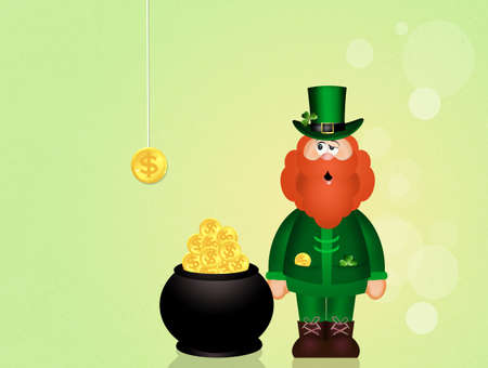 irish culture: Leprechaun of Saint Patrick Day