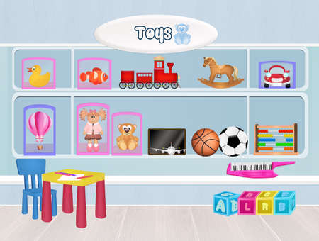 sell car: toys store