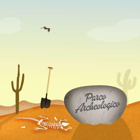 paleontologist: archaeological park