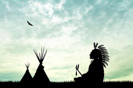 ネイティブ ・ アメリカン ・ インディアン