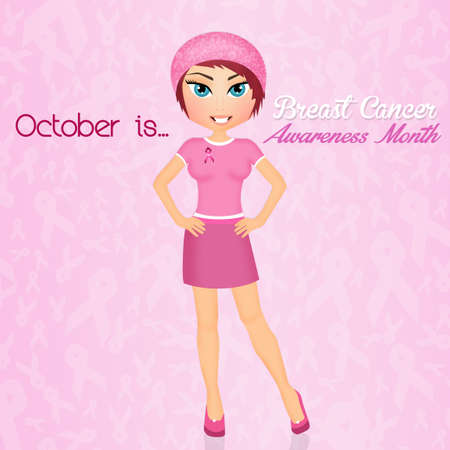 October is awareness breast cancer month