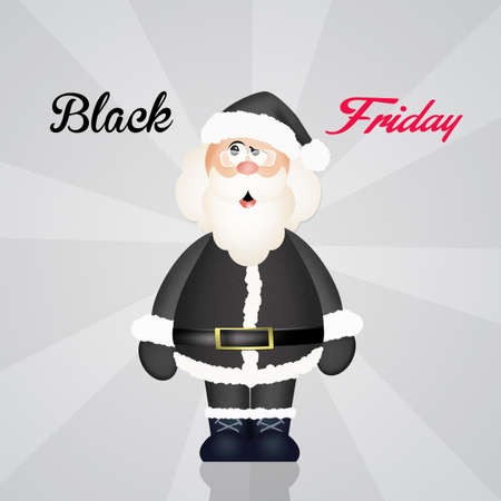 Black friday Christmas Stock Photo
