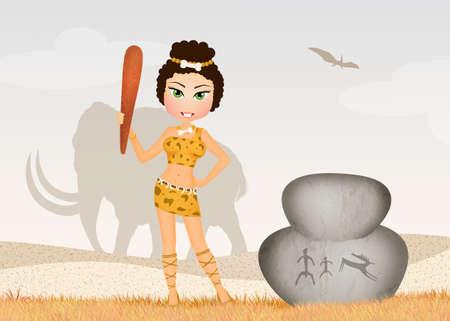 primitive girl