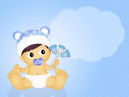 cute birth baby