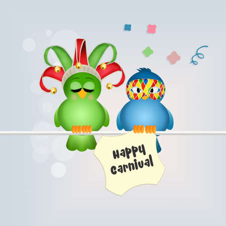 minstrel: happy Carnival