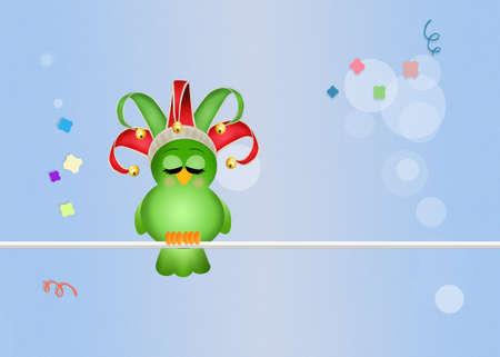 minstrel: bird celebrate carnival