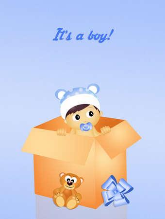 was born a boy