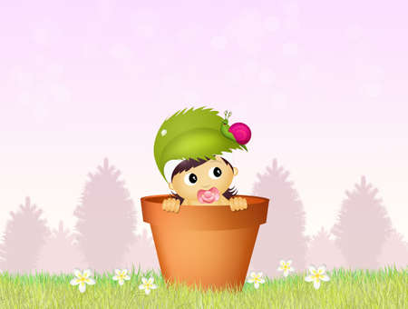 augury: cute baby female