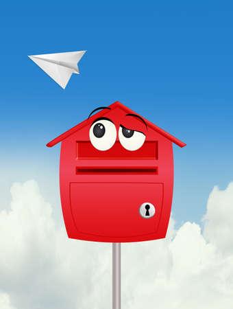 funny mail box