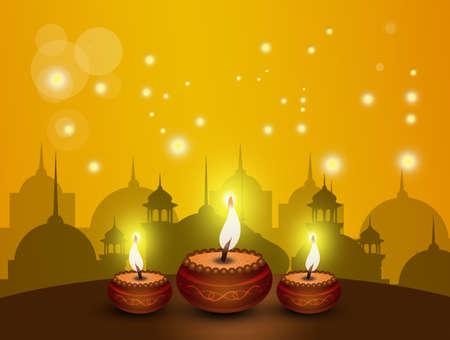 Happy Diwali festival Stock Photo