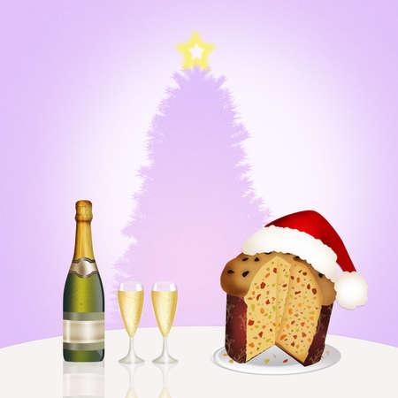 성탄절 저녁 스톡 콘텐츠
