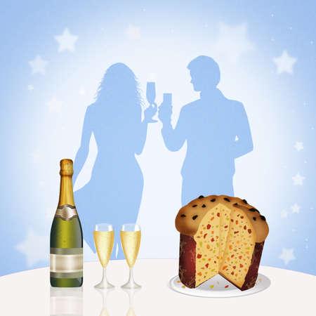새해 저녁