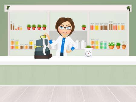 herbalist: herbalists shop
