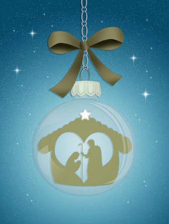presepe: Christmas Nativity scene