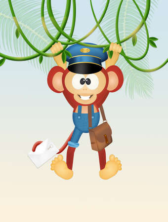 postman monkey