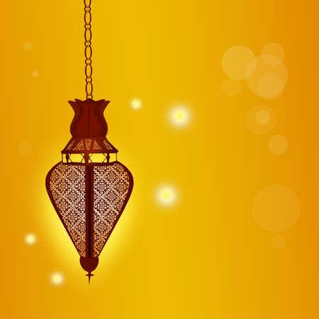 Beautiful elegant Ramadan lantern