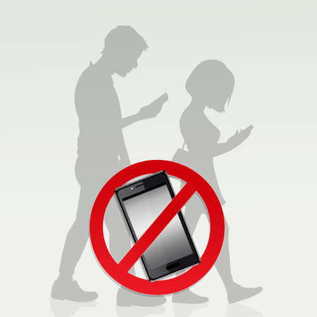 Restrictions on cell phone