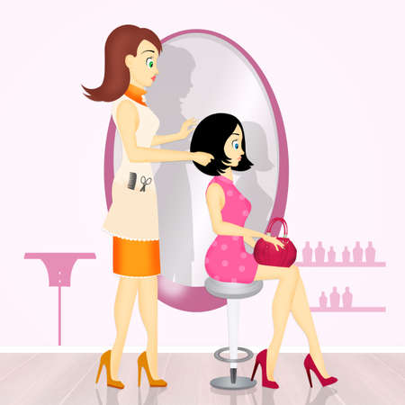 phon: Women from the hairdresser