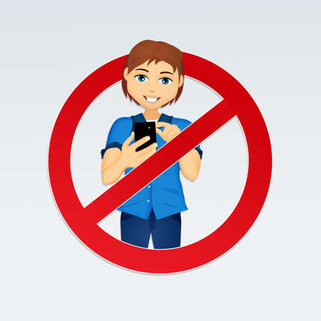 使用携帯電話の歩行禁止