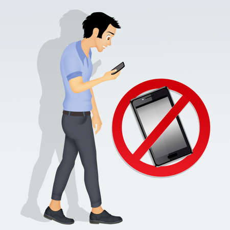Restrictions on cell phone Stock Photo - 84402399