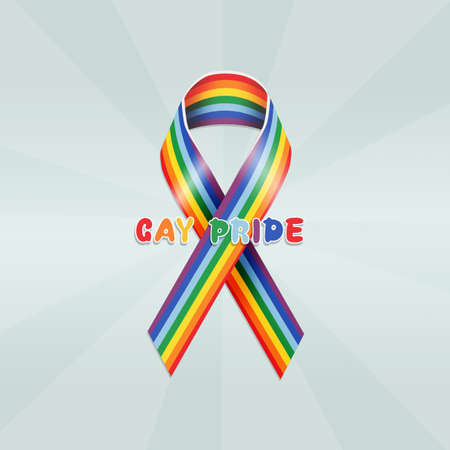 ribbon for gay pride