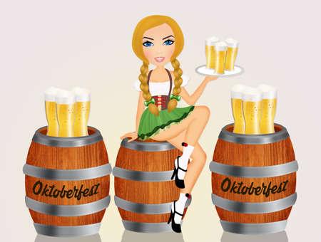 Oktoberfest Standard-Bild - 86031269