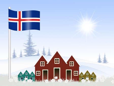 Voyage en Islande Banque d'images - 86967924