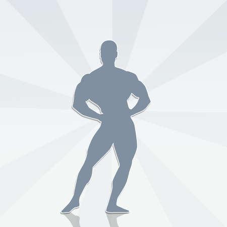 Bodybuilder Foto de archivo - 90178813