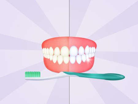 Tanden schoonmaken