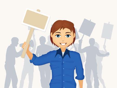protest demonstration