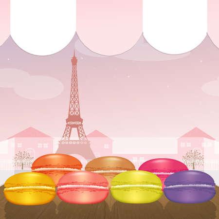 パリのマカロン