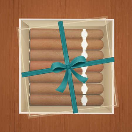 cigar box Stock Photo