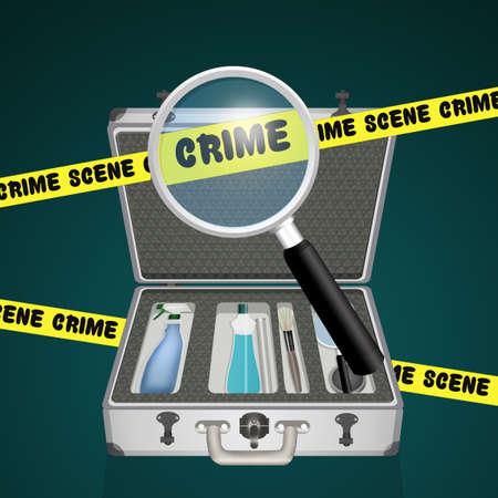 illustration of the R.I.S. case