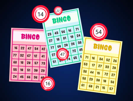 illustration of bingo