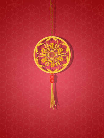 traditional Chinese amulet Banco de Imagens - 98869093
