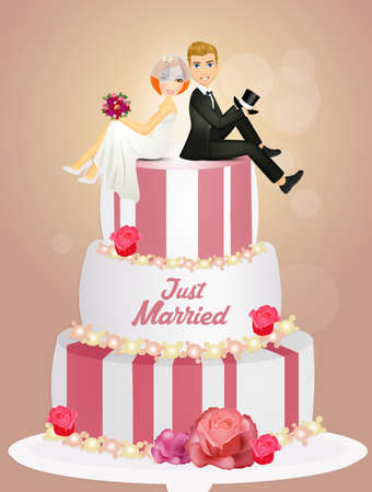 get married on the cake