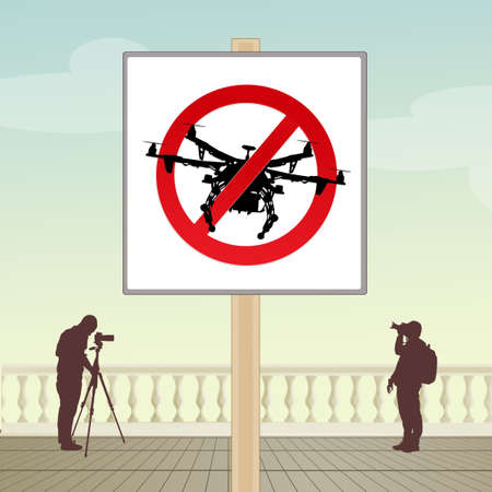 the use of the drone is prohibited