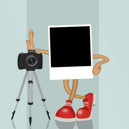 nice illustration of camera photography