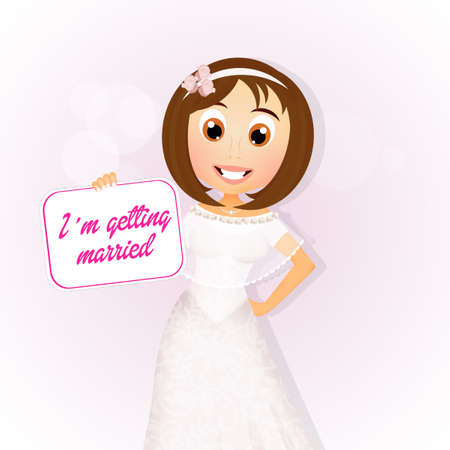 I'm getting Married today 写真素材 - 103945032
