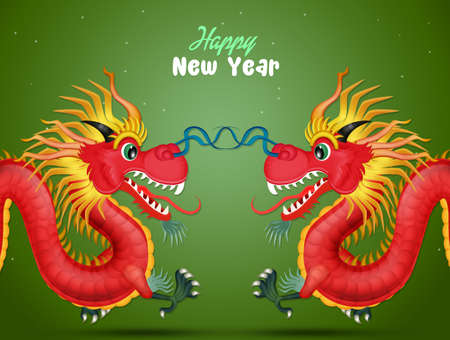 traditional dragon for Chinese new year