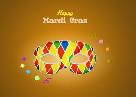 Mask of mardi gras Stock Photo