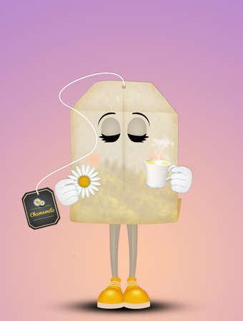 chamomile drink Фото со стока