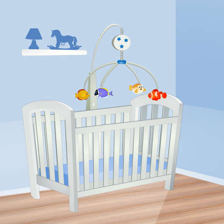 baby blue room