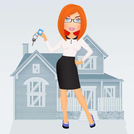 sell or buy a home Фото со стока