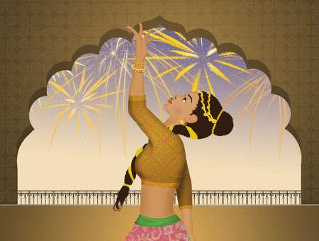 Indian Bollywood dance