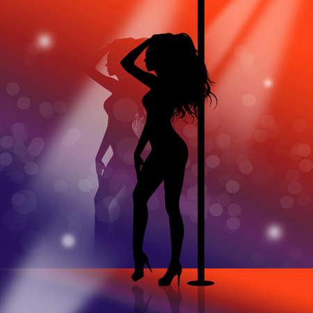illustration of Lap Dance