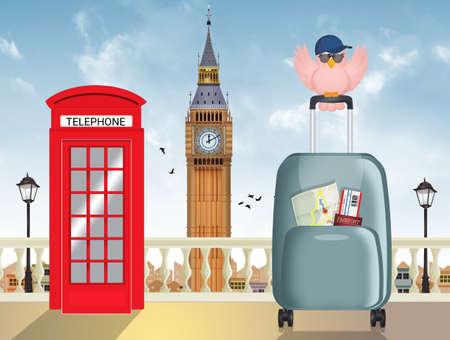 traveler to London city
