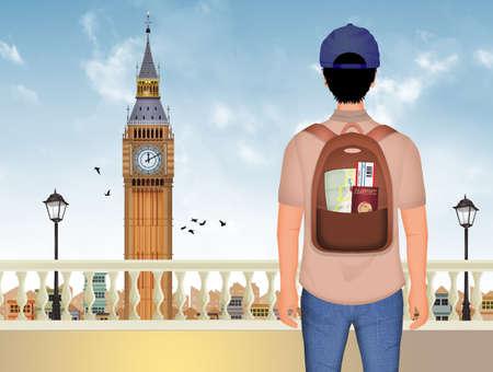 traveler to London