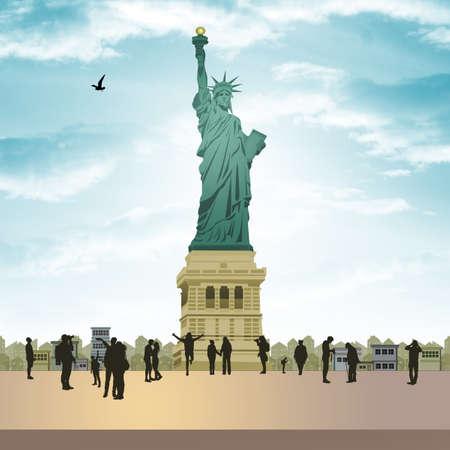 Statue of Liberty Stok Fotoğraf