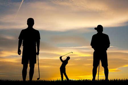 have fun playing golf